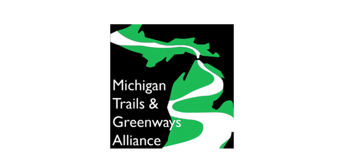 Partner & Supporter of Vote YES on Proposal 1 for MI Water, Wildlife & Parks - Michigan Trails & Greenways Alliance logo